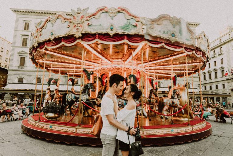 fidanzamento coppia intima a firenze